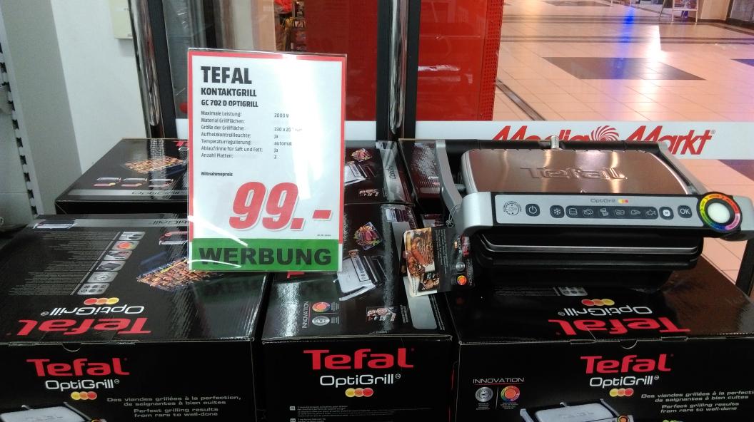 Tefal GC 702 D Optigrill im Media Markt Dietzenbach
