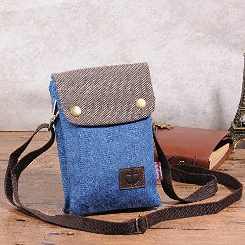 Schultertasche / Geldbeutel mit Reißverschluss-Tasche für 7,99€