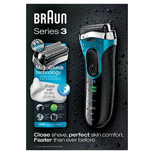 """Braun™ -  Nass-/Trockenrasierer """"Series 3 3080"""" für €52,57 [@Amazon.co.uk]"""