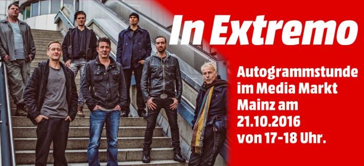 [Lokal Mainz] HEUTE 17-18h MM Mainz: Autogramm von In Extremo