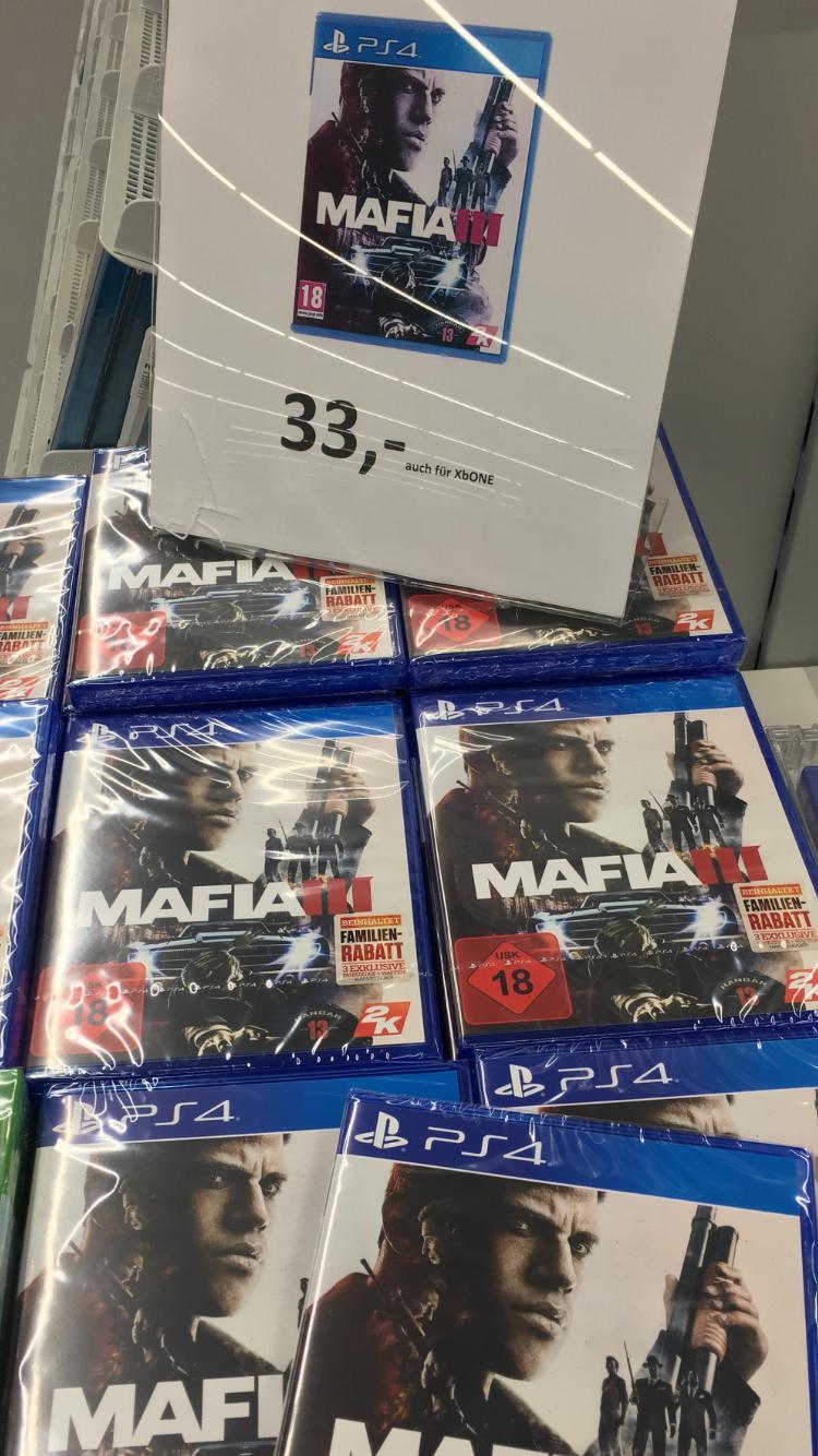 [Lokal Braunschweig] MAFIA III - 3 - PS4 - XBoxOne - 33€