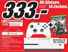 [LOKAL MediaMarkt Berlin/Brandenburg] XBOX One S - 1TB + Gears Of War 4