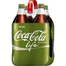 [Globus-Wiesental] Coca Cola life 4 x 1,5 Liter für 2,00 Euro