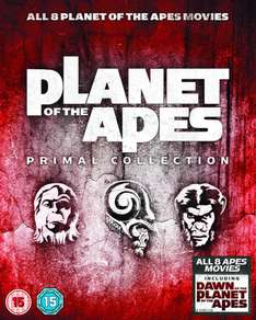 (Zavvi) Planet der Affen - Primal Collection (8x Blu-ray) für 19,39€