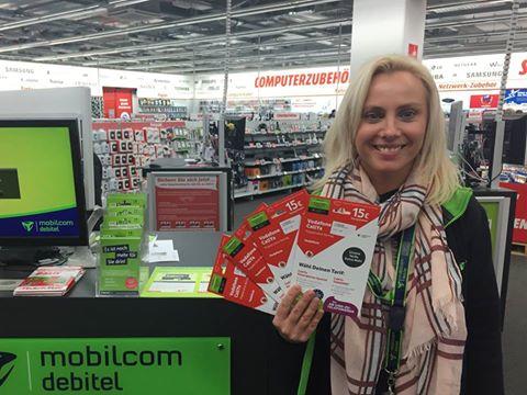 [Lokal Leipzig] Vodafon CallYa Prepaidkarte mit 15€ Startguthaben @MM