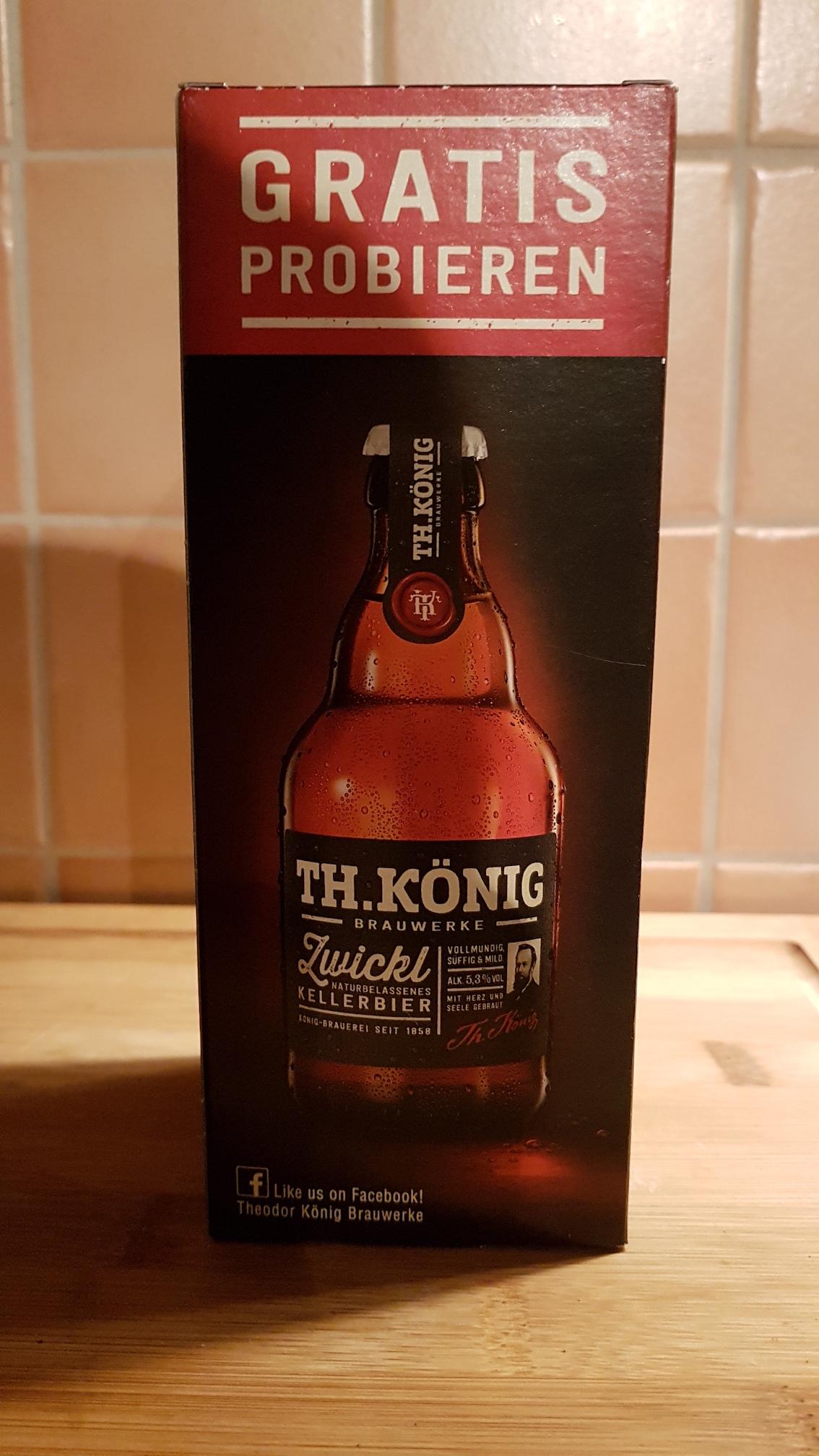 [Lokal?] Gratis Bier TH.König bei EDEKA in Nienburg/Weser