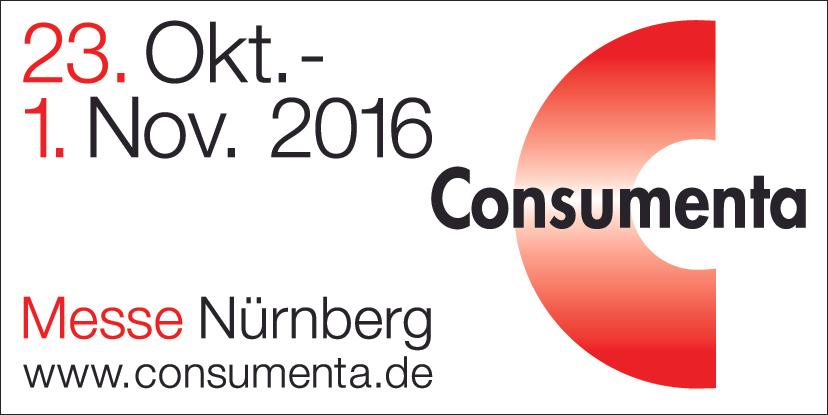 Consumenta 2016 Tagesticket für 9,50€ statt 12€
