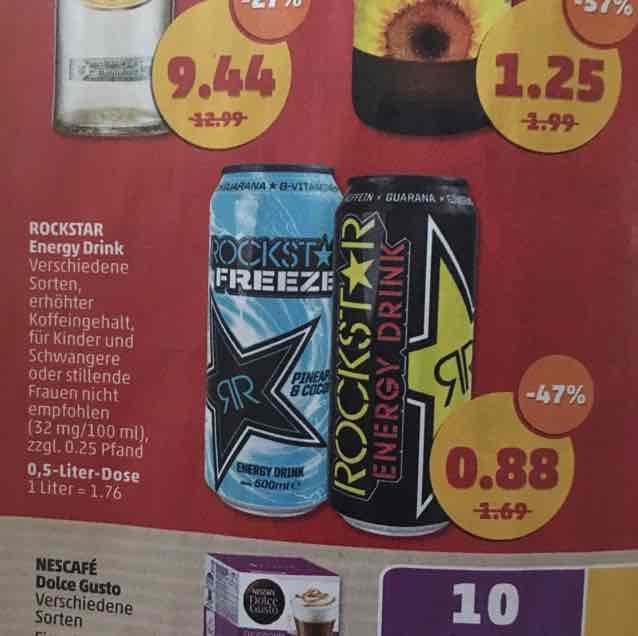 (Penny) Rockstar Energy Drink 0,88€