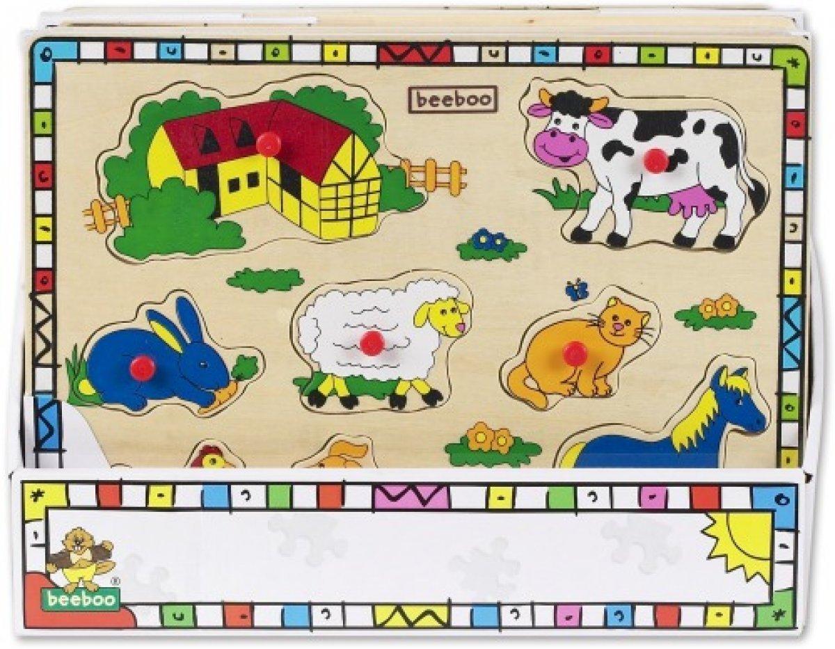 Beeboo Einlegepuzzle Bauernhof groß für 2,99€ [Kaufland]