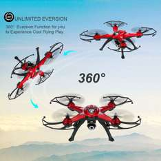 Original GOOLRC T8C 2.4GHz 4CH 6-axis Gyro 2.0MP Quadcopter bei [rcmoment.com]