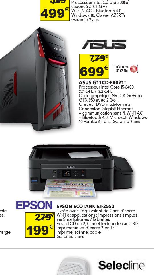 Luxemburg // Epson Ecotank ET-2550 Auchan Kirchberg