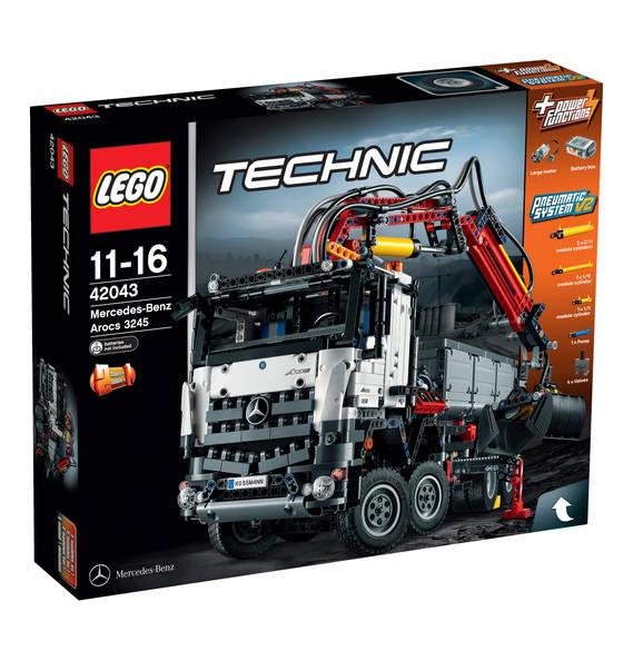 Lego Technic 42043 Mercedes-Benz Arocs 3245 für 137,99 inkl. Versandkosten.