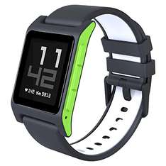 Pebble 2 Smartwatch mit Herzschlagmonitor - Charcoal Lime [Amazon.co.uk]