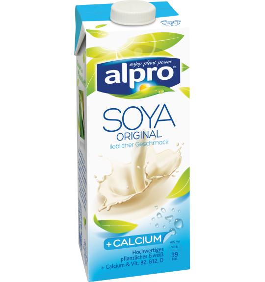 Alpro Sojamilch Original + Calcium 1l für 1 Euro