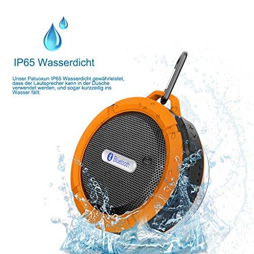5W Bluetooth Lautsprecher (IPX5 Wasserdicht Staubdicht) für 9,99€