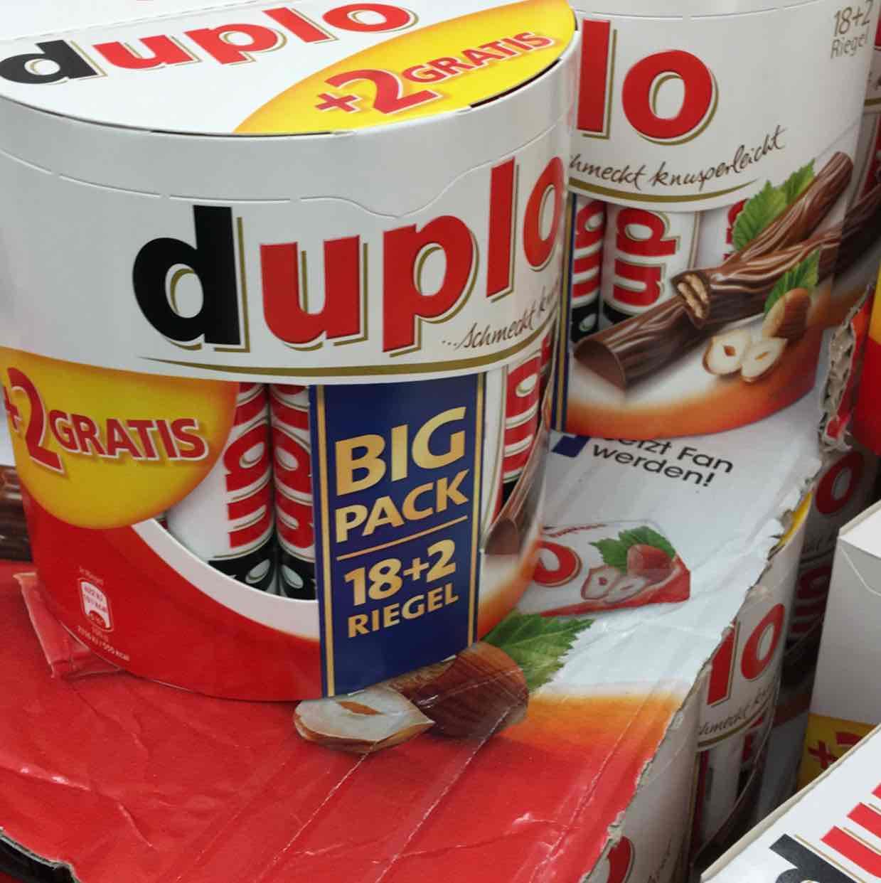 Duplo Big Pack 20 Stück nur 2,49€  Lokal HH Penny Eidelstedter Marktplatz