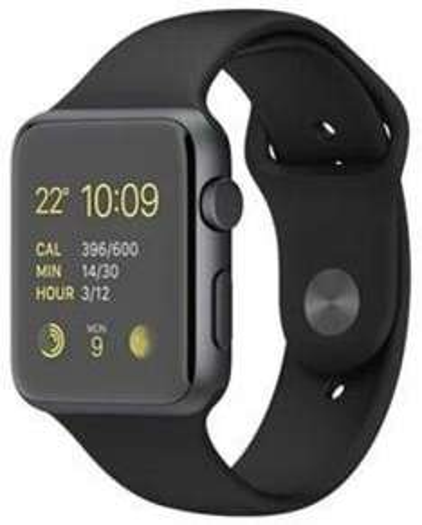[digitalo.de] Apple Watch 42mm Sportarmband black / Edelstahlvariante (MJ3T2DD/A)