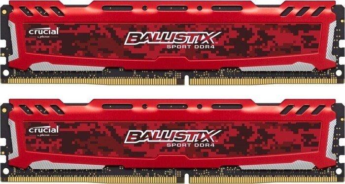 Crucial Ballistix Sport LT 32GB (2x 16GB) DDR4-2400 für 109,68€ [Amazon.fr]