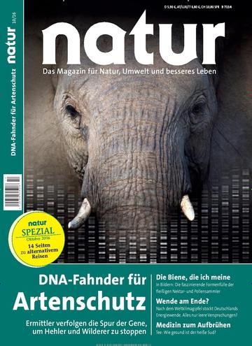 Natur im Jahresabo (12 Ausgaben) für 64,80€ mit 65€ Verrechnungsscheck effektiv gratis erhalten