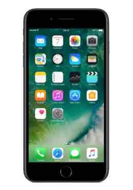 Apple iPhone 7 Plus 128 GB schwarz mit O2 Free XL 8GB 49,99 € mtl. (Zuzahlung gerade mal 218,20 €)