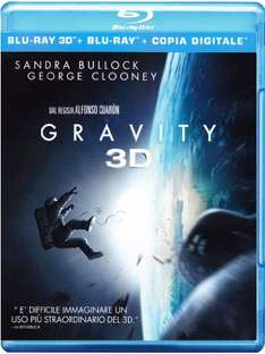 Gravity (Blu-ray 3D + Blu-ray + Digital Copy) für 12,61€ (Amazon.it)