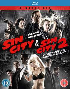 (Zavvi) Sin City + Sin City 2 (Blu-ray) für 7,99€