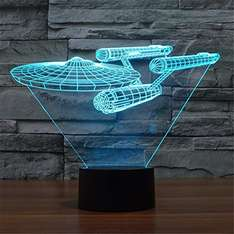 Star Trek NCC-1701 Lampe