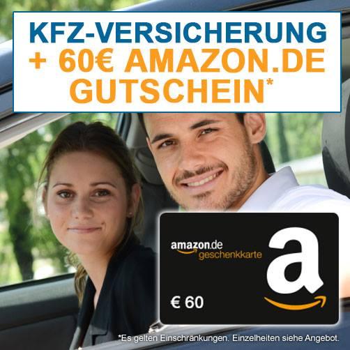 60€ Amazon.de-Gutschein + 20% auf AmazonBasics für KfZ-Tarifwechsel