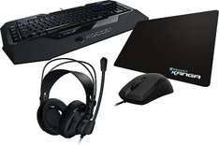 Roccat Gaming Set (Kiro, Isku, Kanga, Renga)