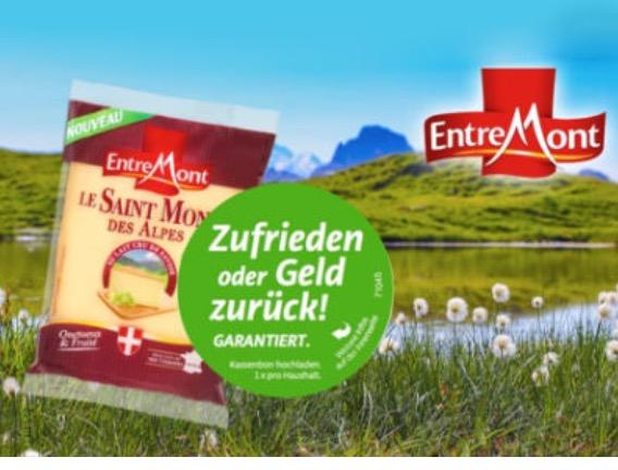 Geld zurück Garantie für Le Saint Mont des Alpes-Käse