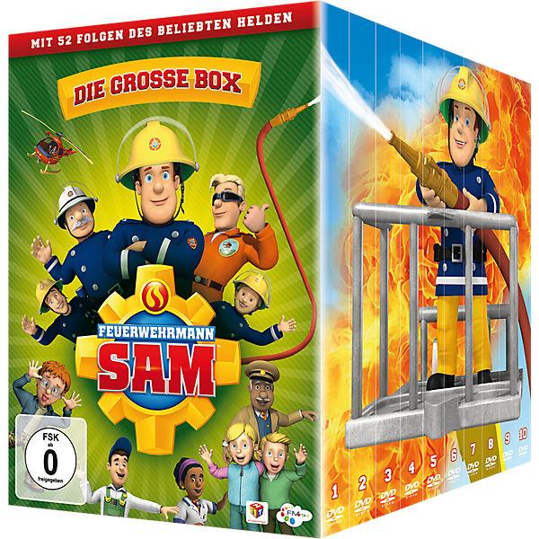 20% Rabatt auf CDs, DVDs und Blurays ab 29€ MBW bei [MyToys] z.B. Feuerwehrmann Sam DVD Box, 6. + 7. Staffel, 10 DVD´s für 26,94€ inkl. VSK