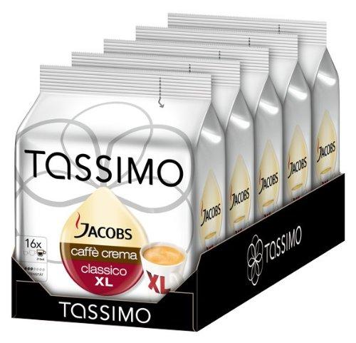 Bei Amazon Tassimo 5 er Pack für 13,00 mit Coupon