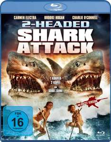 Amazon Prime: 2-Headed Shark Attack - Uncut Version [Blu-ray] - Nur 2,99 €