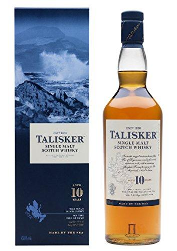 Amazon: Talisker 10 Jahre Single Malt Scotch Whisky (1 x 0.7 l)