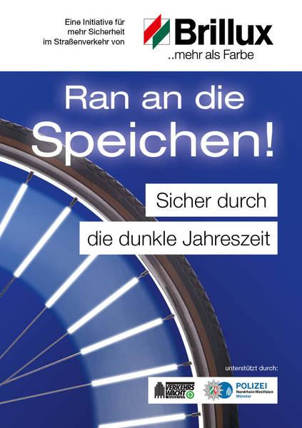 [Lokal Münster] BRILLUX-AKTION: RAN AN DIE SPEICHEN!