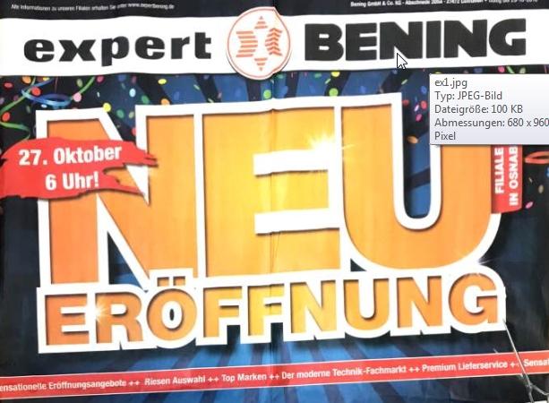 [Lokal Expert-Filiale in Osnabrück] Viele Eröffnungs-Angebote!