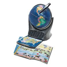 Oregon Scientific Smart Globe 3 mit Buch