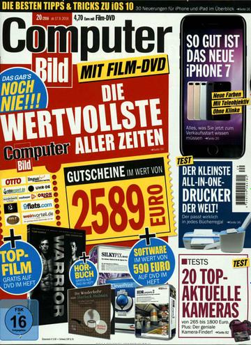 1 Jahr Computerbild mit DVD für 39,- €