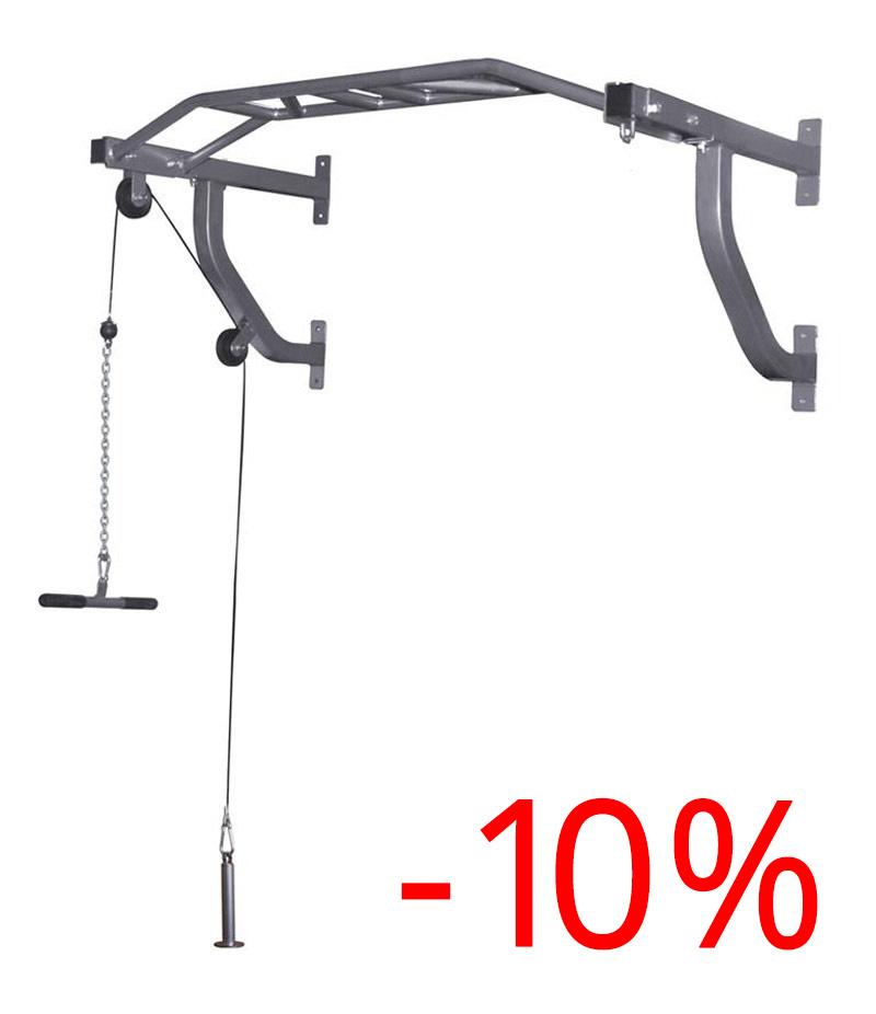 10% Rabatt: Multifunktions-Klimmzugstange mit Kabelzug und Boxsackhalterung --> 58,46 € inkl. Versand