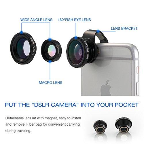 3 Kameraobjektive für Smartphones bei Amazon Prime