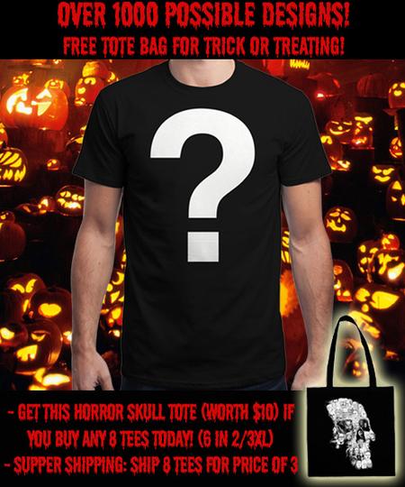 Qwertee  -  SPOOKTACULAR INSANITEE!!!  -  T-Shirts Auswahl zufällig
