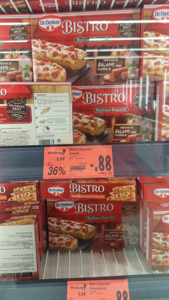 Kaufland  deutschlandweit - Bistro Baguette 88 cent