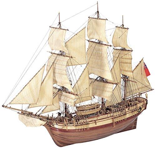 Aufwendige Holzmodellbauschiffe bei [Amazon] z.B. H.M.S. Bounty, 1 Meter lang für 273,78 €, PVG: 348,99 €