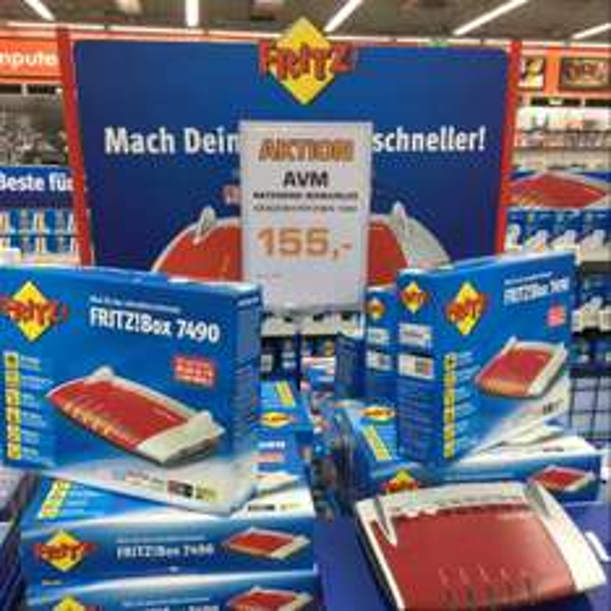 AVM Fritzbox 7490 [Lokal Wuppertal]