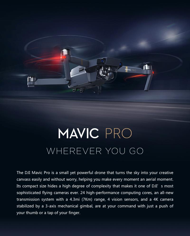 DJI Mavic Pro mit 4k-Kamera (VGP: 1199€)