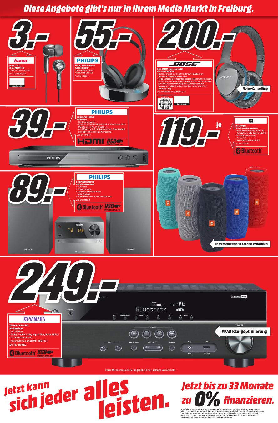[MediaMarkt Freiburg] Rausverkauf z.B. Bose QC25 für 200€ statt 279€ uvm.