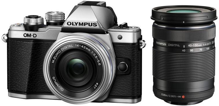 [SATURN] Olympus OM-D E-M10 Mark II + 14-42mm Pancake & 40-150mm R + 100,€ Saturn Gutschein