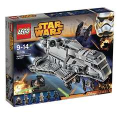 Lego Star Wars 75106 Imperial Assault Carrier für 87,20€ bei [Amazon] statt ca. 100€