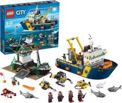 15% Rabatt auf Lego City ab 39€ MBW bei [MyToys] z.B. Tiefsee-Expeditionsschiff 60095 für 61,69€ inkl. VSK statt ca. 73€
