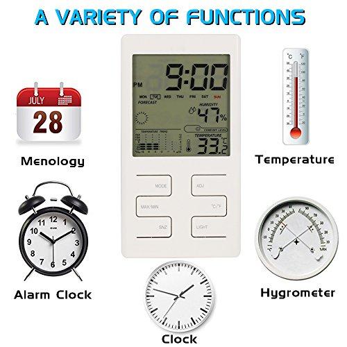 Thermometer / Hygrometer: 30% Rabatt und zusätzlich 30% Aktionsrabatt